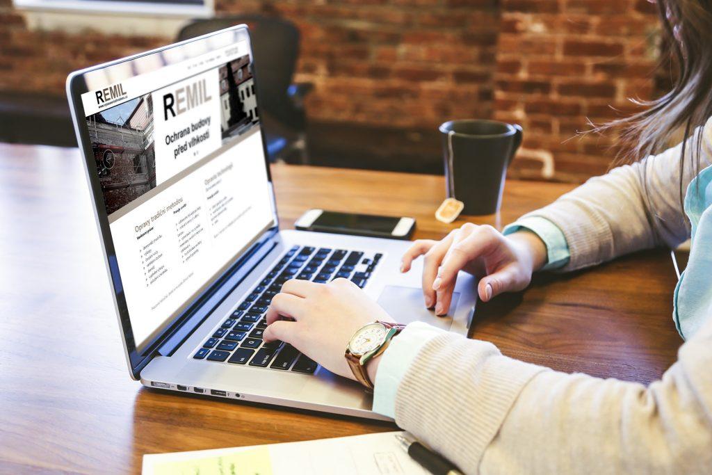 strona internetowa dla firmy czeskiej