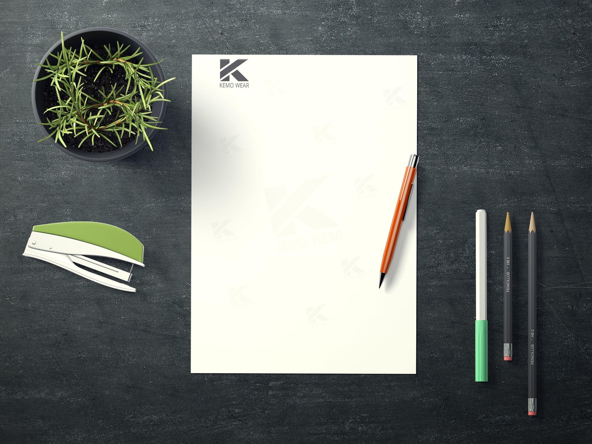 papier firmowy dla projektantów mody