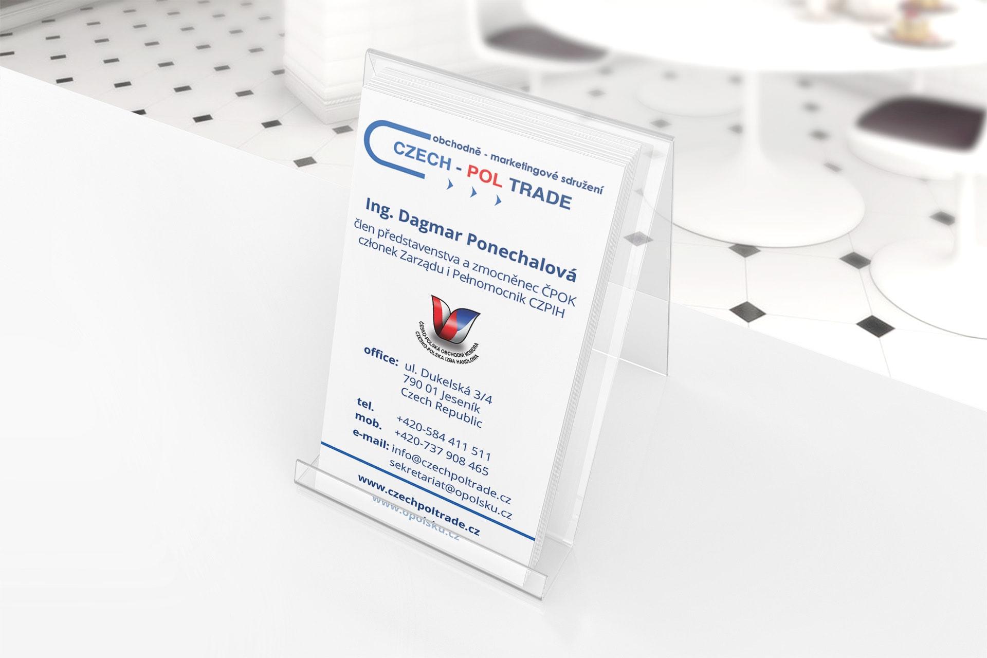 wizytówki dla firm czeskich