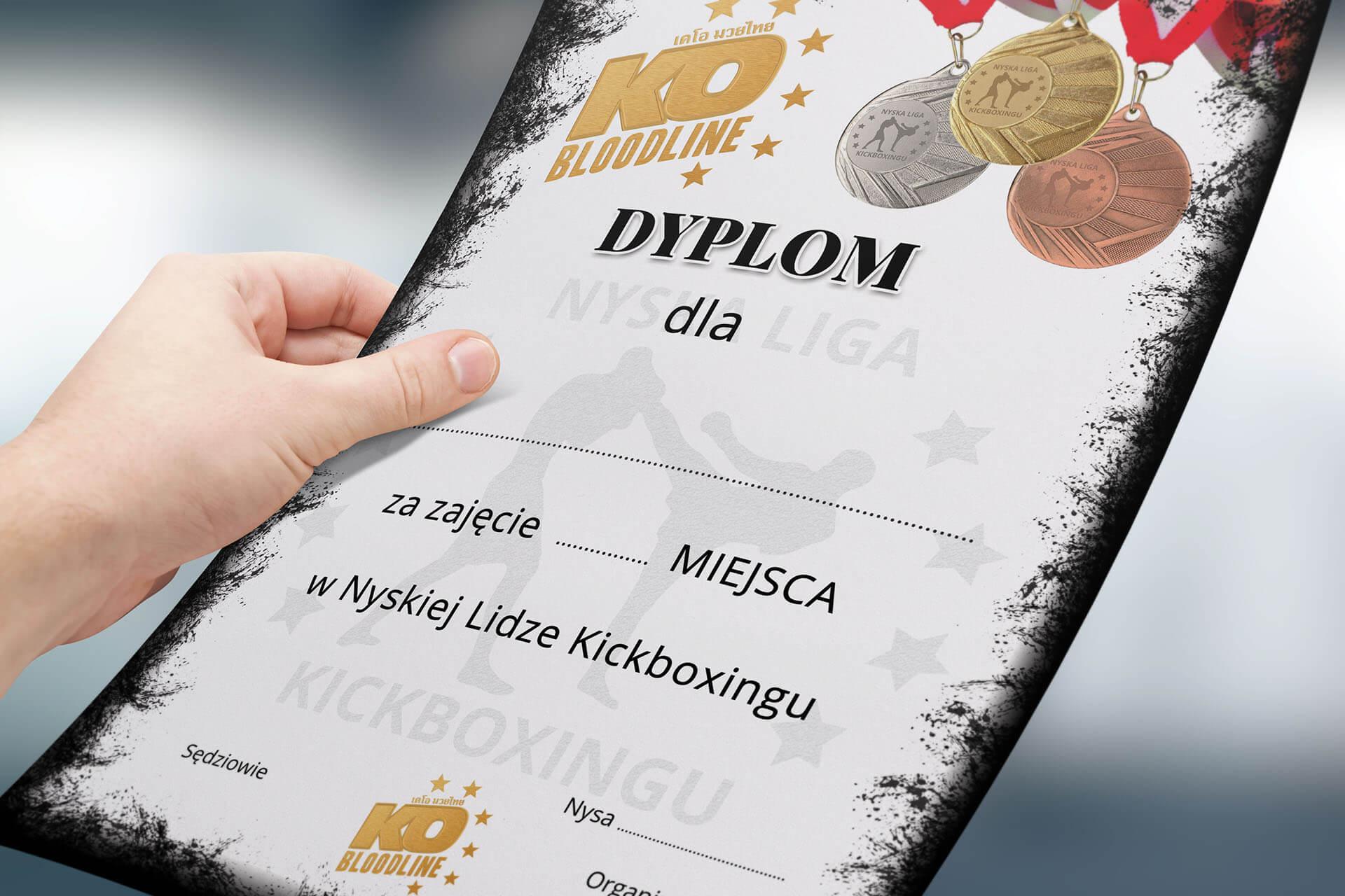 dyplom_dla szkoły sztuk walki